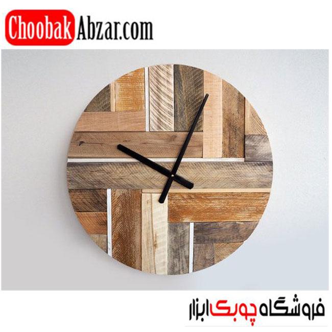 ایده ساخت ساعت چوبی